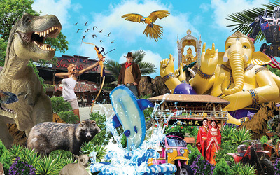 Thailand: Admission to Asian Cultural Village for 1 Child (All Attractions Pass)