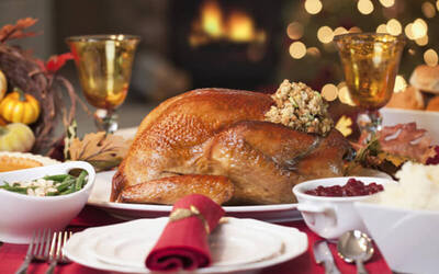 Share The Celebration: One (1) Brine-Cured Roasted Turkey with One (1) 50-Degree Slow-Cooked Salmon with Asian Spices, One (1) bottle of Faustino Wine, and Four (4) Cans of Heineken Beer