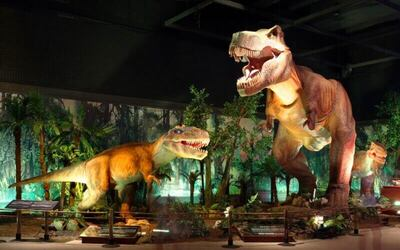 Set A: Admission to Jurassic Research Center + Zombie Outbreak + 4D Trick Art Museum for 1 Adult