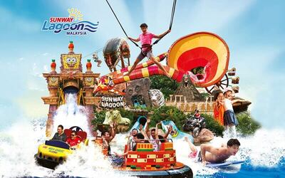 Admission to Sunway Lagoon for 1 Adult