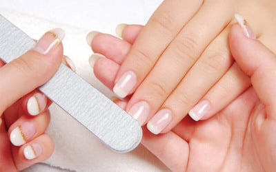 Basic Manicure + Polygel / Gel Nail Extension