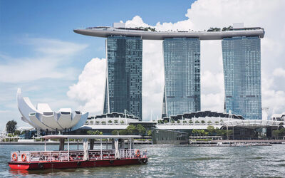 40-Minute Round Cruise along Singapore River for 1 Adult
