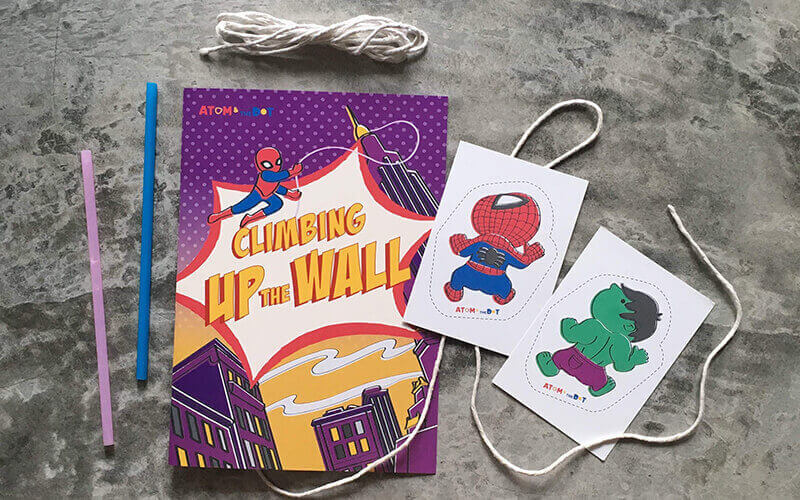 Children's Superhero-Themed Box with 3 Activities + Delivery