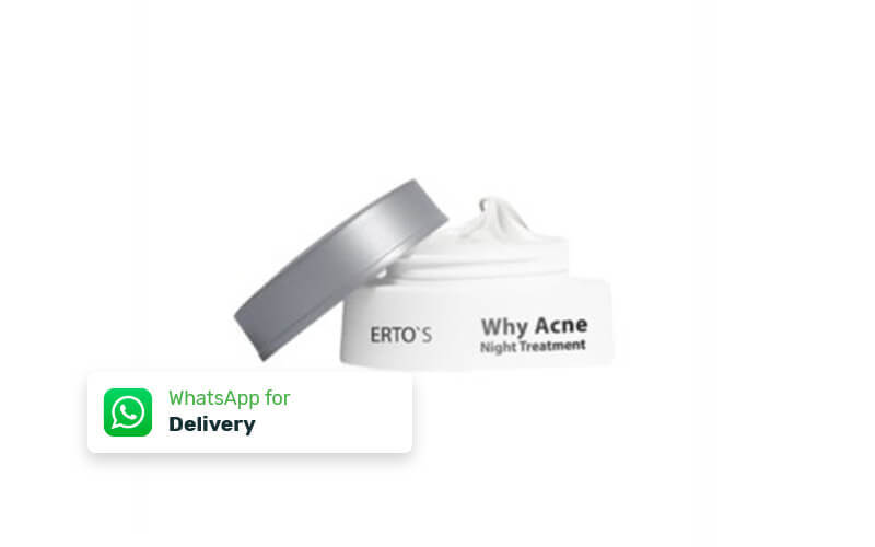 Free Delivery - Erto's Why Acne Night Cream