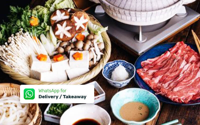 Shabu Package untuk 3 - 4 Persons - Delivery & Take Away