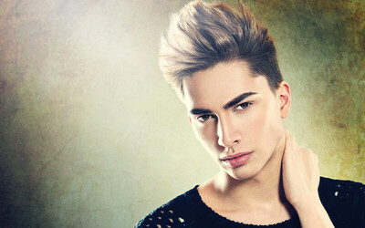 Men's Korean Styling Cut + Detoxifying Scalp Therapy + Wash and Blow for 1 Person