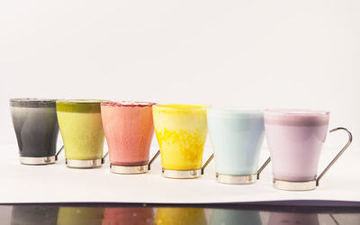 One (1) Hot Rainbow Series Beverage