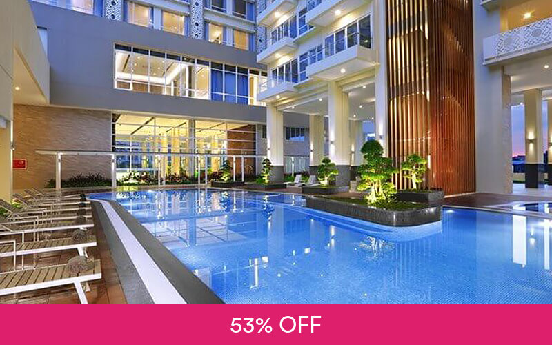 (With Perks) 2D1N Stay in Aston Hotel Batam + Return Ferry for 1 Person