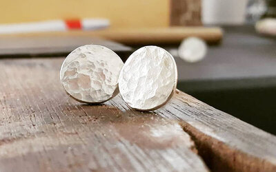 Basic Silver Earrings Workshop for 1 Person
