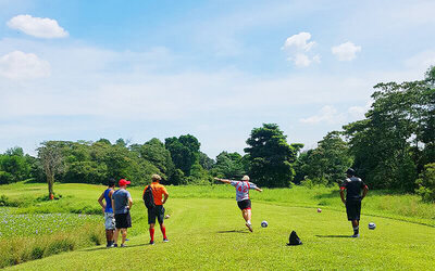 (Mon - Fri) 18-Hole FootGolf Game for up to 5 People
