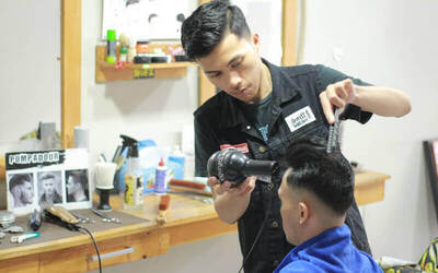Better Man Package for Hair Cut