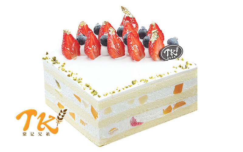 1kg Vanilla Fruity Whole Cake