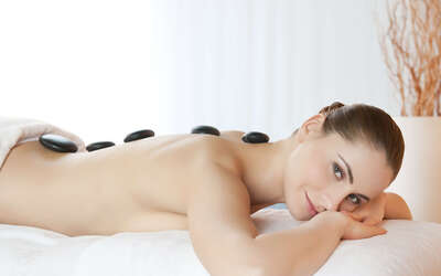1.5-Hour Full Body Hot Stone Massage for 2 People