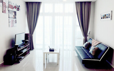Johor: 3D2N Stay in 3-Bedroom Apartment for 8 People