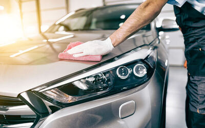 17-Step Auto Detailing with Nano Body Coating and Nano Mist for 1 Car