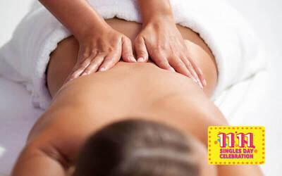 [11.11] 1.5-Hour Meridian Shiatsu Ginger Massage for 1 Person