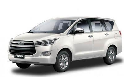 Toyota Innova Reborn Car Rental + Driver + Free Pick up and Drop (12 Hours)