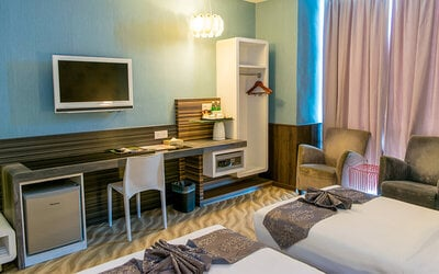 Ipoh: 2D1N Stay in Family Room with Breakfast + Sunway Lost World Water Theme Park Entry Tickets for 3 People