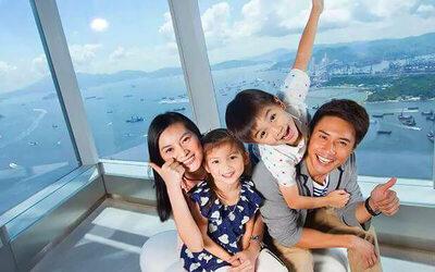 Hong Kong: Admission to Hong Kong Sky 100 Observation Deck for 1 Adult