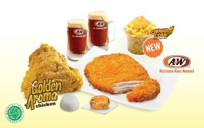 Set Menu Makan Chicken Tender dan Golden Aroma® Chicken