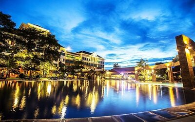Siem Reap: 3D2N Stay in Deluxe Pool View Room with Breakfast for 2 People