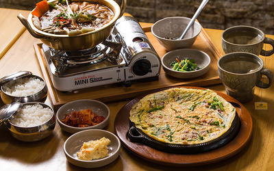 Korean Meal for 2 People