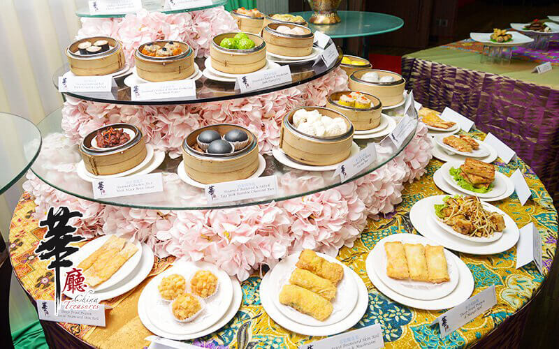 China Treasures: (Mon - Fri) Merdeka and Malaysia Month Dim Sum and Japanese Lunch Buffet for 1 Person
