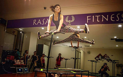 1-Hour Trampoline Fitness Class for 1 Person (3 Sessions)