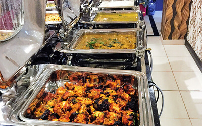 Christmas and New Year Indian Dinner Buffet for 1 Person