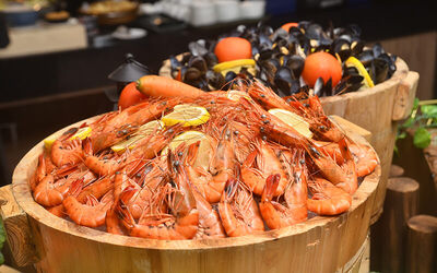 (Fri - Sat) Iconic Seafood Buffet Dinner for 1 Person