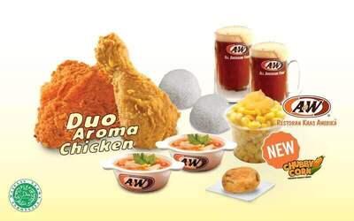 Set Menu Makan Duo Aroma Chicken untuk 2 Orang