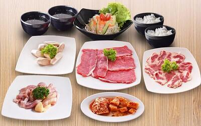 All You Can Eat Yakiniku Set untuk 1 Orang