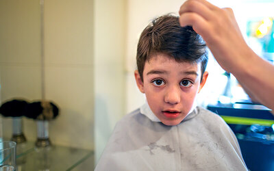 Hair Cut for Boy / Girl (weekdays only)