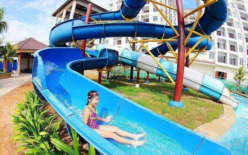 Admission to Bayou Lagoon Waterpark for 1 Child