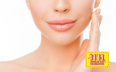 [11.11] Upper Lip and Eyebrow Threading for 1 Person