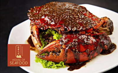House of Seafood: $250 Cash Voucher for A la Carte Food and Drinks