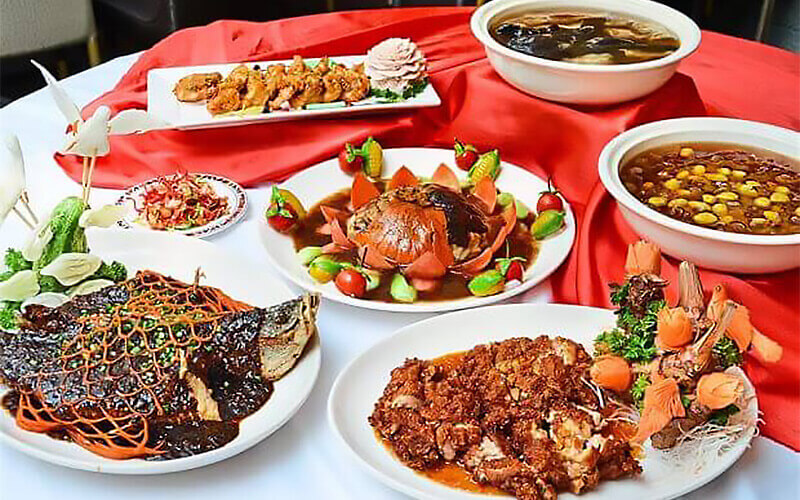 [CNY] Chinese Set Meal for 10 People