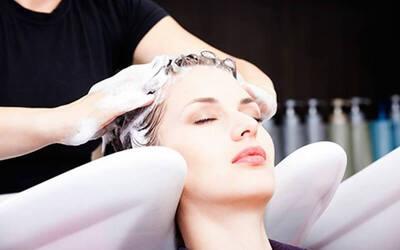 Paket Creambath + Hair Wash + Blow (60 menit)