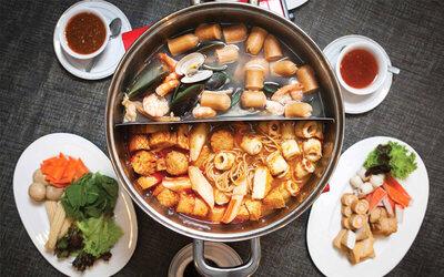 All You Can Eat Steamboat & Thai Grill untuk 1 Orang