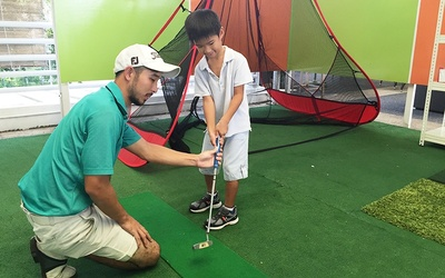 One (1) Indoor Golf Lesson at Toa Payoh for 1 Child