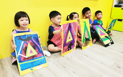 Four (4) Art Lessons for 1 Child