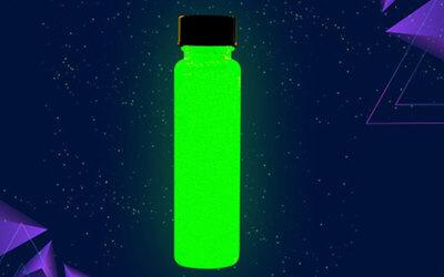 One (1) Glowtopia Festival UV Glow Paint Bottle