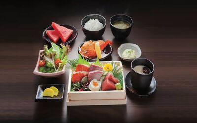 Sashimi Set Meal for 1 Person