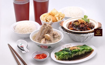 [#GFCulinary] Set Menu Chinese Food for 2 Persons