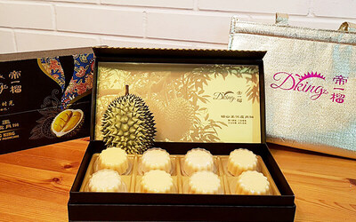 [Mid-Autumn] 16-Pieces of Durian Mooncakes + Free Delivery