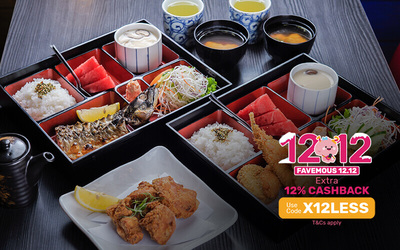 [12.12] Zenjo Bento Set A for 2 People