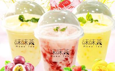 One (1) Yogurt Fresh Milk Drink with Snack