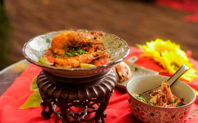 Early Bird: 9-Course Chinese New Year Set Meal with Yee Sang for 10 People