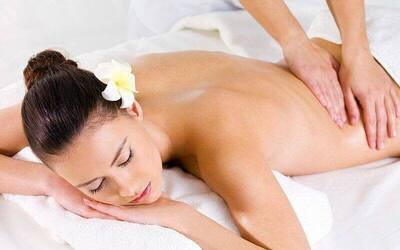80-Min Lymphatic System Back Massage for 1 Person