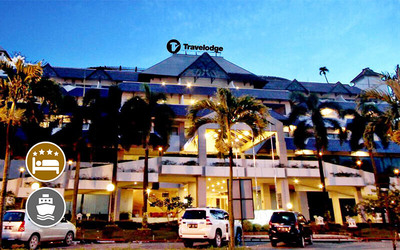 (With Perks) Travelodge Batam: 2D1N Stay in Deluxe Room with City Tour + Return Ferry + Massage for 1 Person